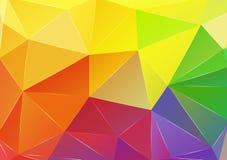 Fondo del triángulo Modelo de formas geométricas ilustración del vector