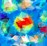 Fondo del triángulo Modelo de formas geométricas stock de ilustración