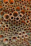 Fondo del tubo Fotografia Stock Libera da Diritti
