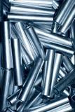 Fondo del tubo del metal Imagen de archivo libre de regalías