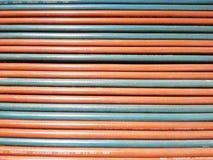 Fondo del tubo flessibile della saldatura Fotografie Stock Libere da Diritti