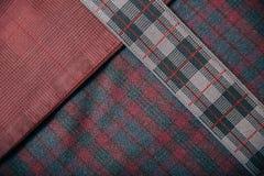 Fondo del tweed de la materia textil Fotografía de archivo