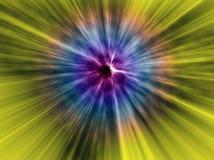 Fondo del universo de la anchura del salto de Hiperspeed Foto de archivo libre de regalías