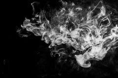 Fondo del vape del fumo Fotografie Stock Libere da Diritti