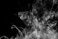 Fondo del vape del fumo Immagini Stock Libere da Diritti