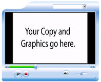 Fondo del vídeo Imagenes de archivo