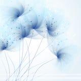 Fondo del vector con las flores Fotografía de archivo libre de regalías