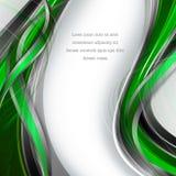 Fondo del vector con las líneas onduladas Foto de archivo libre de regalías