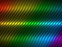 Fondo del vector con las tiras coloridas Foto de archivo