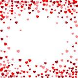 Fondo del vector del día de tarjetas del día de San Valentín Fotografía de archivo