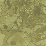 Fondo del vector de Grunge en tonos verdes olivas Imagen de archivo libre de regalías