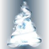 Fondo 2015 del vector de la cinta del árbol de navidad ilustración del vector