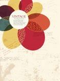 Fondo del vector de la flor Imagen de archivo libre de regalías