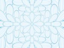 Fondo del vector de la flor Fotografía de archivo