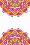 Fondo del vector de la mandala Imagenes de archivo