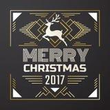 Fondo del vector del fondo de la Navidad Imagenes de archivo