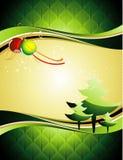 Fondo del vector de la Navidad ilustración del vector