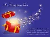 Fondo del vector de la Navidad Fotos de archivo