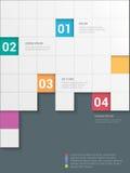 Fondo del vector de la plantilla de la maqueta del infographics del heckerboard del ¡de Ð stock de ilustración