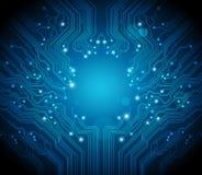 Fondo del vector de la tarjeta de circuitos
