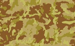 Fondo del vector de la textura del camuflaje del postre Imagen de archivo libre de regalías