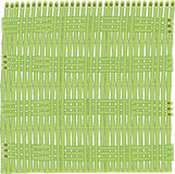 Fondo del vector de los tallos de bambú Foto de archivo