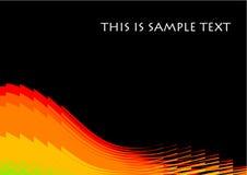 Fondo del vector de onda Imágenes de archivo libres de regalías