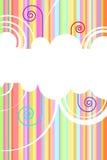 Fondo del vector del arco iris Imagen de archivo libre de regalías