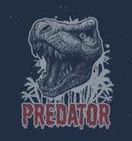 Fondo del vector del dinosaurio de T-rex stock de ilustración