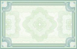 Fondo del vector del guilloquis Imagen de archivo libre de regalías