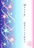 Fondo del vector del invierno Foto de archivo libre de regalías