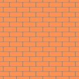 Fondo del vector del modelo de la pared de ladrillo Stock de ilustración