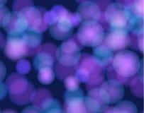 Fondo del vector, luces abstractas subacuáticas, puntos de luz de Bokeh libre illustration