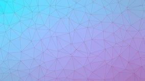 Fondo del vector del modelo del triángulo para su PC ilustración del vector