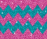 Fondo del vector para las tarjetas de felicitación, invitaciones Movimientos azules del zigzag del brillo de la turquesa y de la  libre illustration