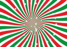 Fondo del vector del resplandor solar de la Navidad Fotos de archivo