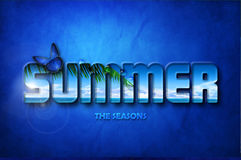 Fondo del verano Foto de archivo
