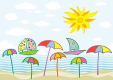 Fondo del verano Imagen de archivo