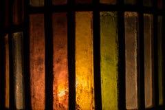 Fondo del vetro macchiato di colore di Abtract Immagine Stock