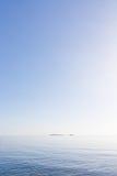 Fondo del viaje del mar y del cielo imagen de archivo libre de regalías