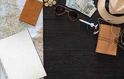 Fondo del viaje, turismo y concepto de la pasión por los viajes Foto de archivo