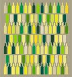 Fondo del vino stock de ilustración