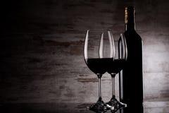 Fondo del vino Fotografia Stock Libera da Diritti