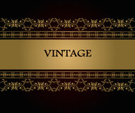 Fondo del vintage Fotografía de archivo libre de regalías