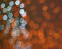 Fondo del vintage de la luz del bokeh del día de fiesta Imagen de archivo libre de regalías
