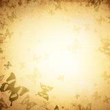 Fondo del vintage de la mariposa Fotografía de archivo libre de regalías