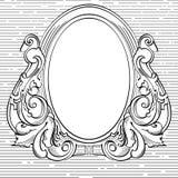 Fondo del vintage, gráfico del viejo estilo libre illustration