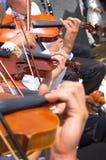 Fondo del violín Imagen de archivo