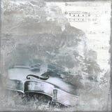 Fondo del violín Imagenes de archivo