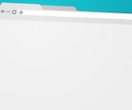 Fondo del web browser stock de ilustración